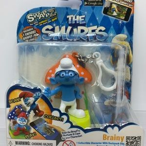 The Smurf Brainy, Power-Up Coin and Game, New!